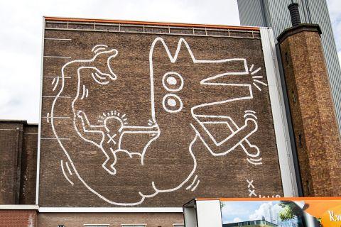 keith haring mural amsterdam