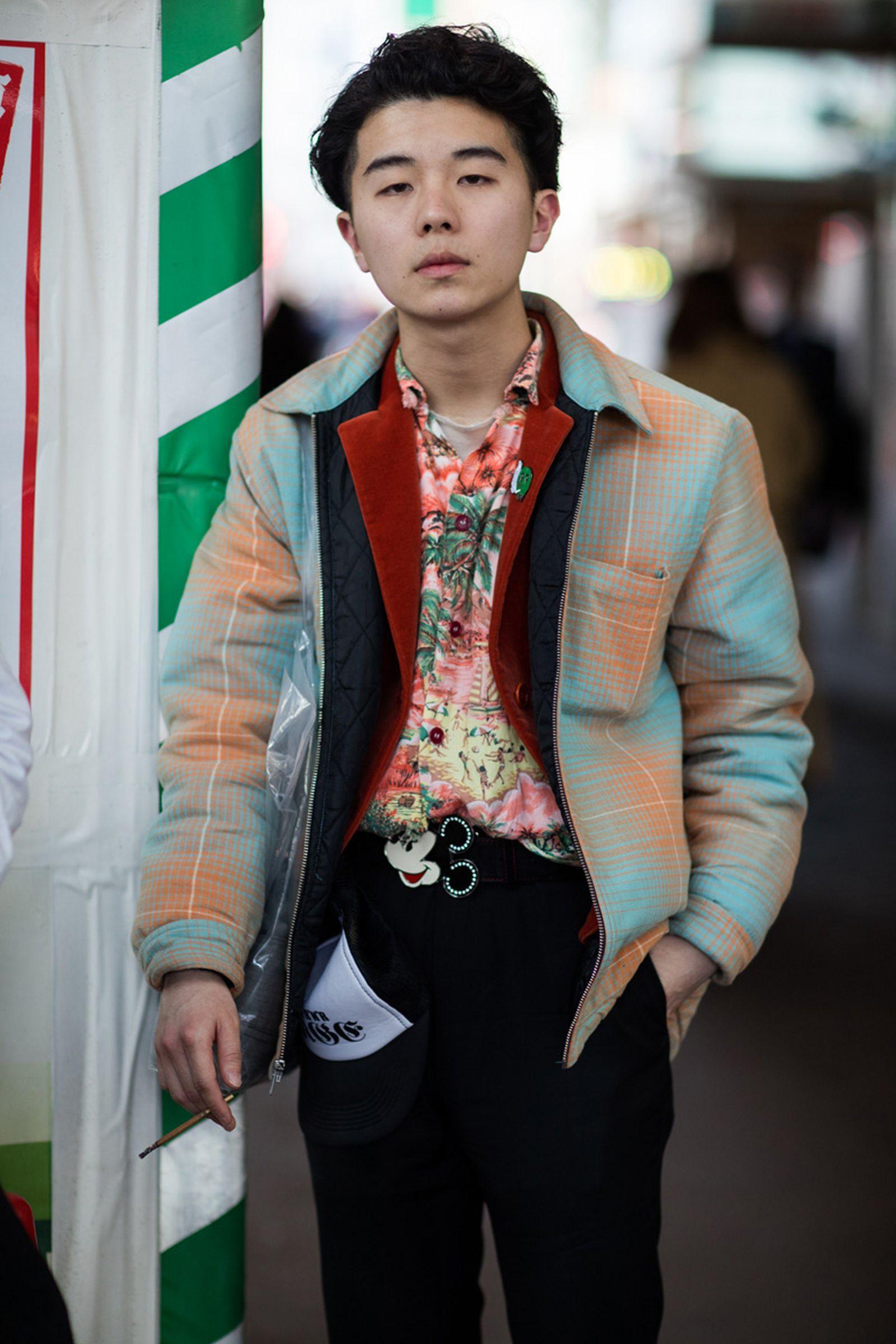 9tokyo fashion week street style