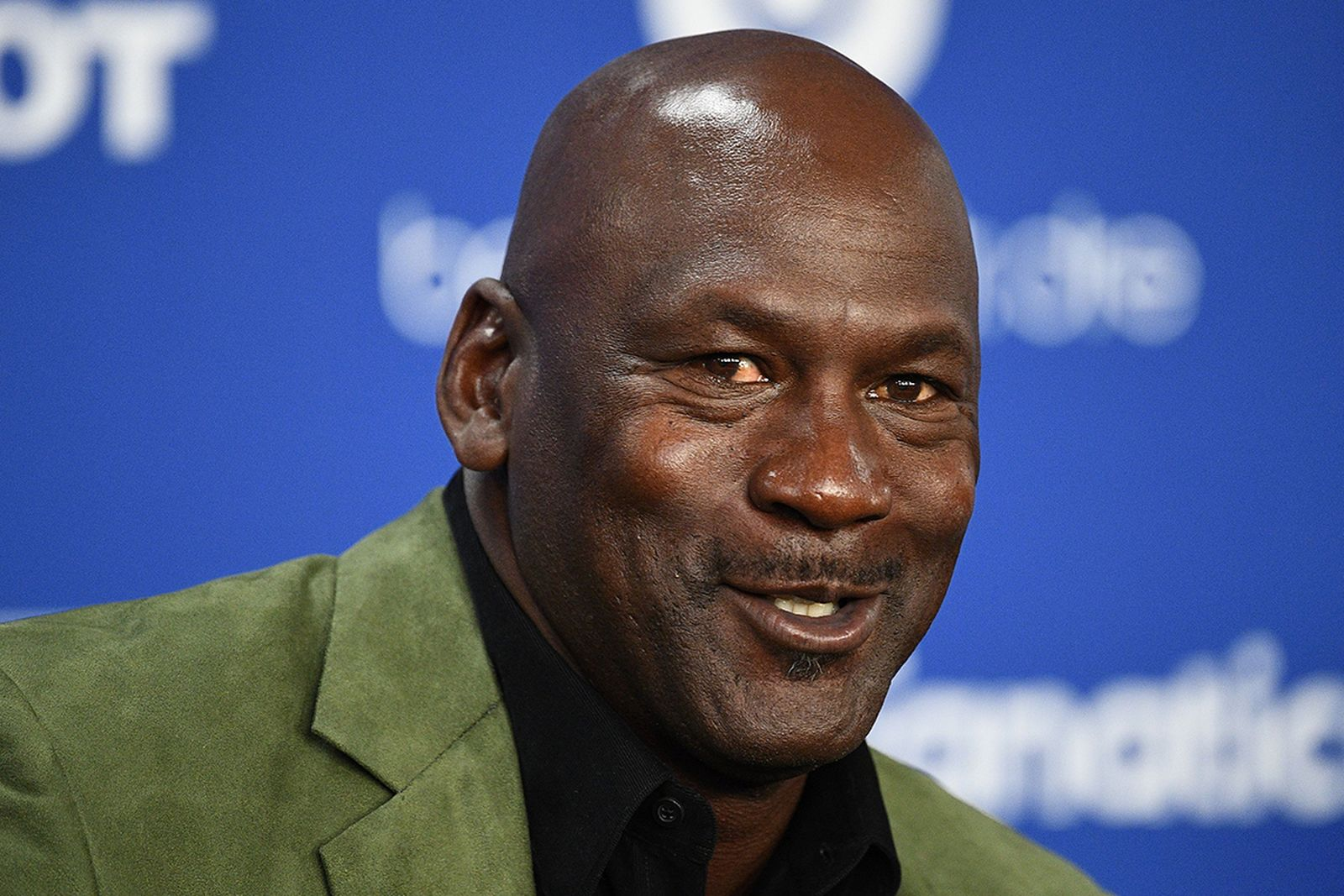 Michael Jordan green jacket