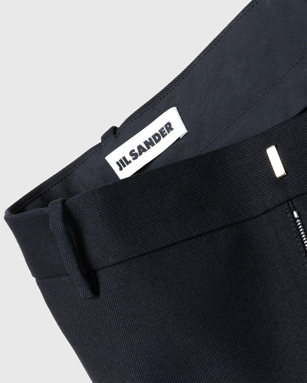 Jil Sander – Zip Pocket Trousers Black - Image 5