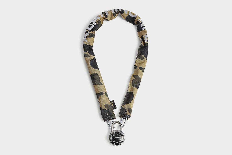 Camouflage Chain Lock