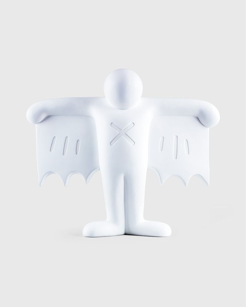 Medicom — Keith Haring Flying Devil Statue White