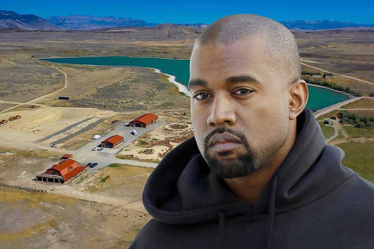 kanye west real estate ranch wyoming home house sale buy price auction tadao ando malibu yeezy shltr