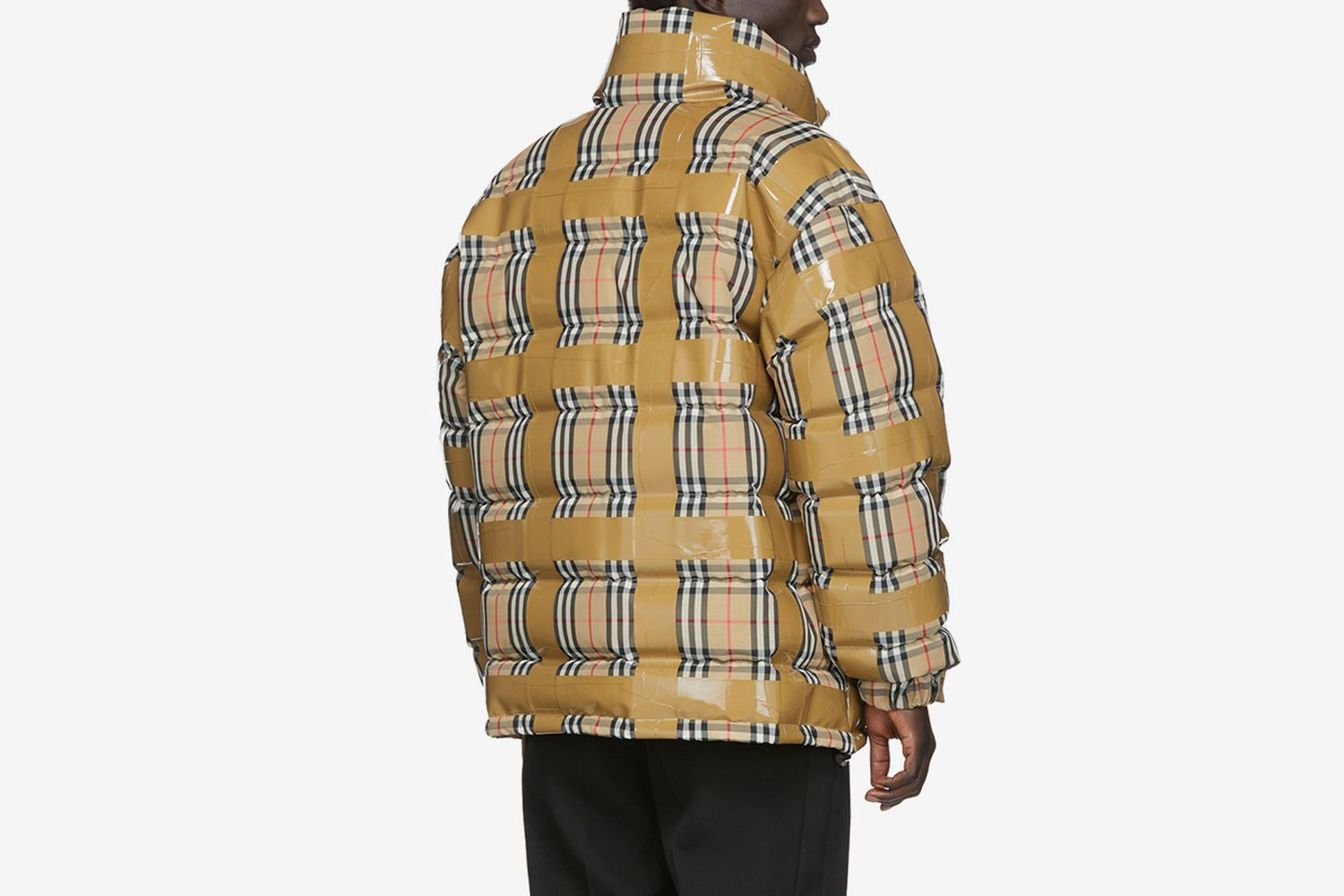 Down Check Tape Jacket