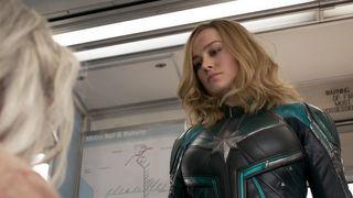 captain marvel trailer Marvel Cinematic Universe brie larson
