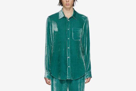 Velvet Cord Shirt