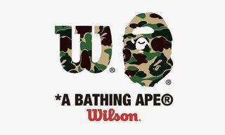 BAPE Follows Supreme's Lead With a Wilson Tennis Collab