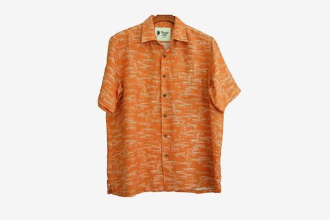 Silk Camp Shirt