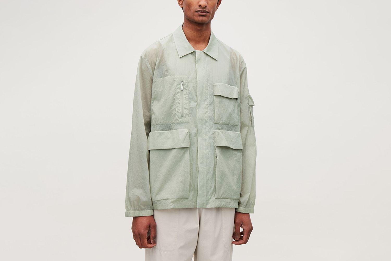 Sheer Casual Jacket