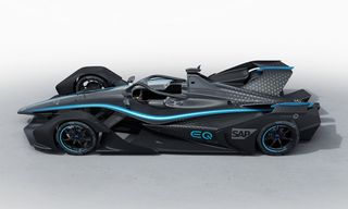 Mercedes-Benz' First Ever All-Electric Race Car Looks Like the Batmobile