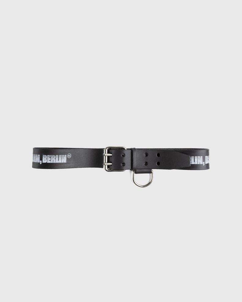 Highsnobiety x Butcherei Lindinger – Belt Black