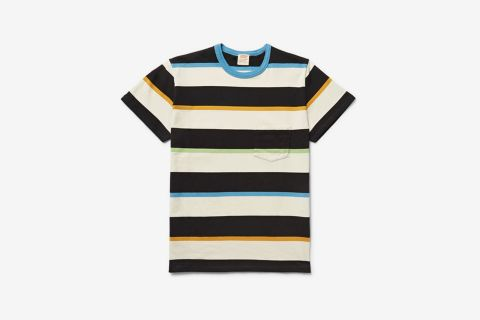 1960's Casuals Slim-Fit Striped Cotton-Jersey T-Shirt