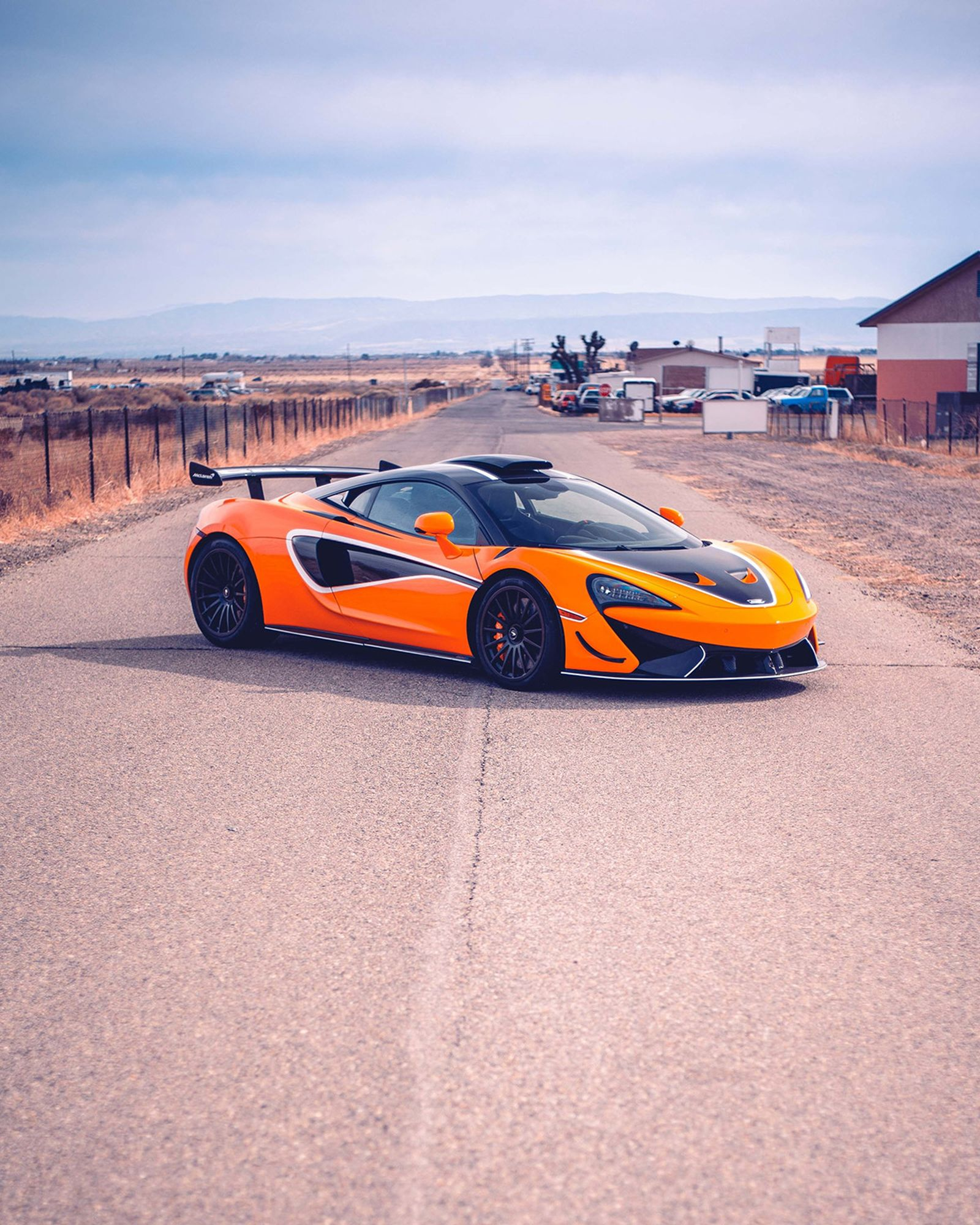 The McLaren 620R: a GT4 racecar for the road.