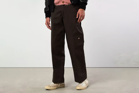 Loose Fit Double Knee Pant
