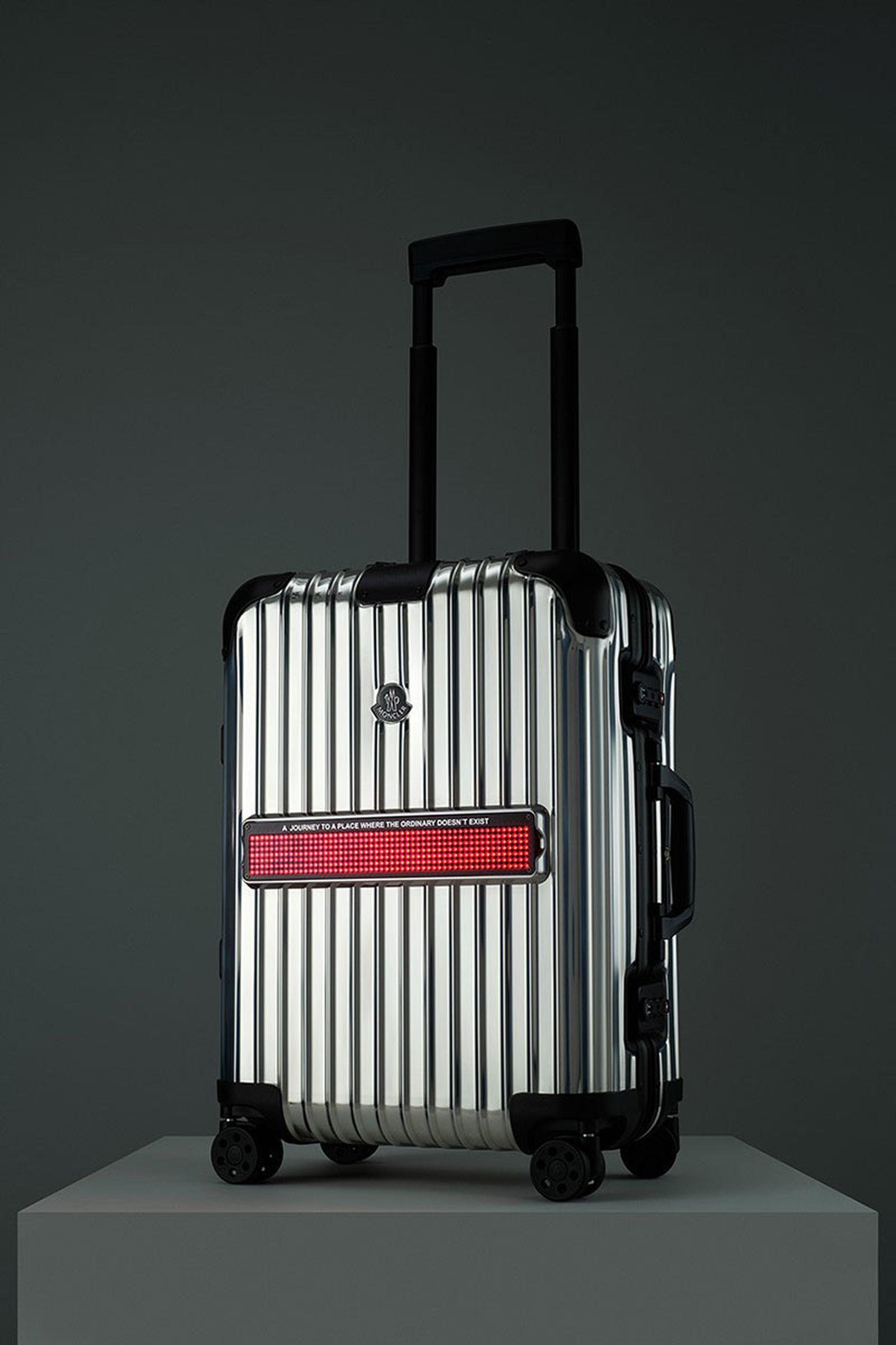 "Moncler x RIMOWA ""Reflection"" luggage"