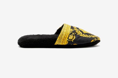 Baroque Print Slippers