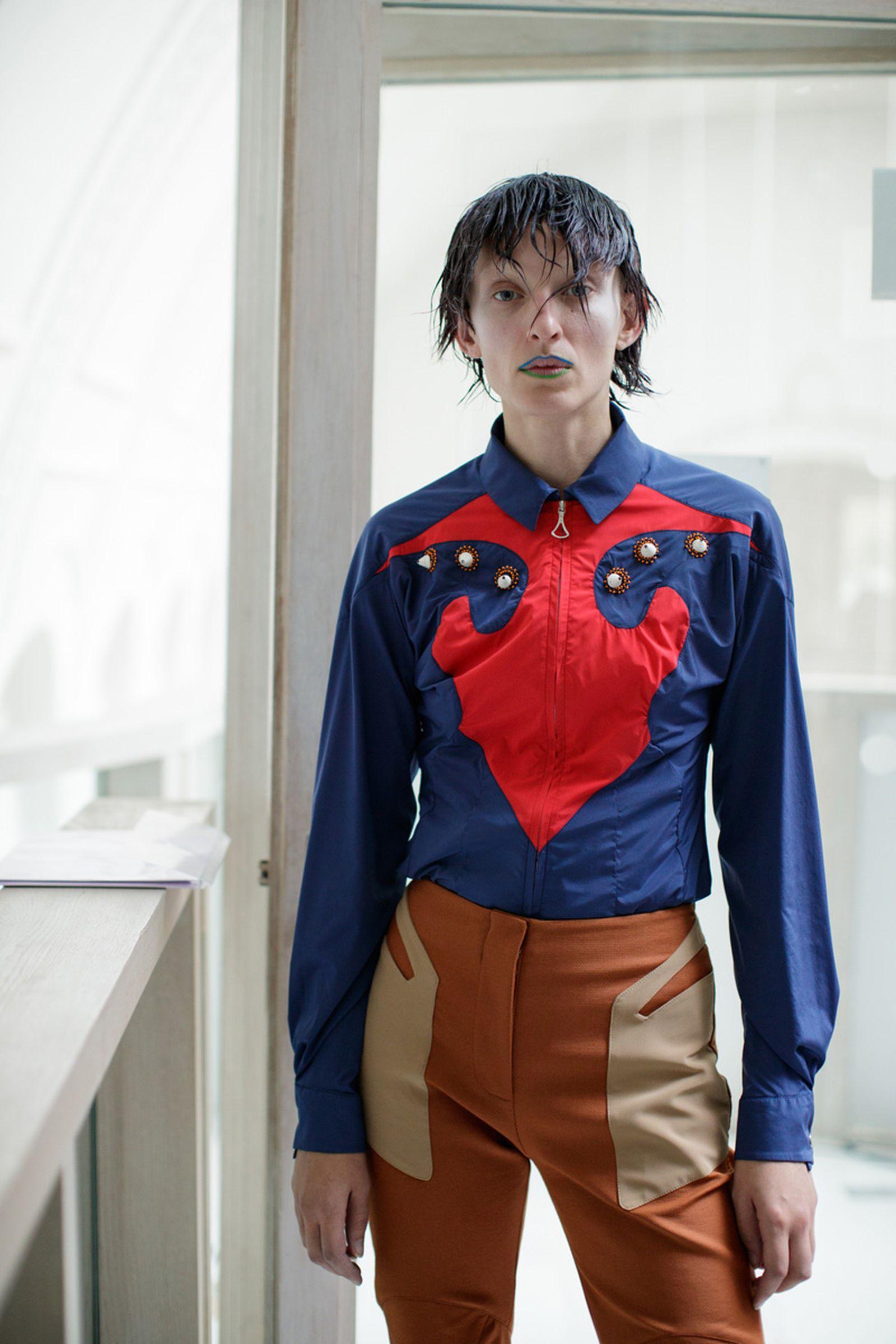 kiko kostadinov london fashion week6