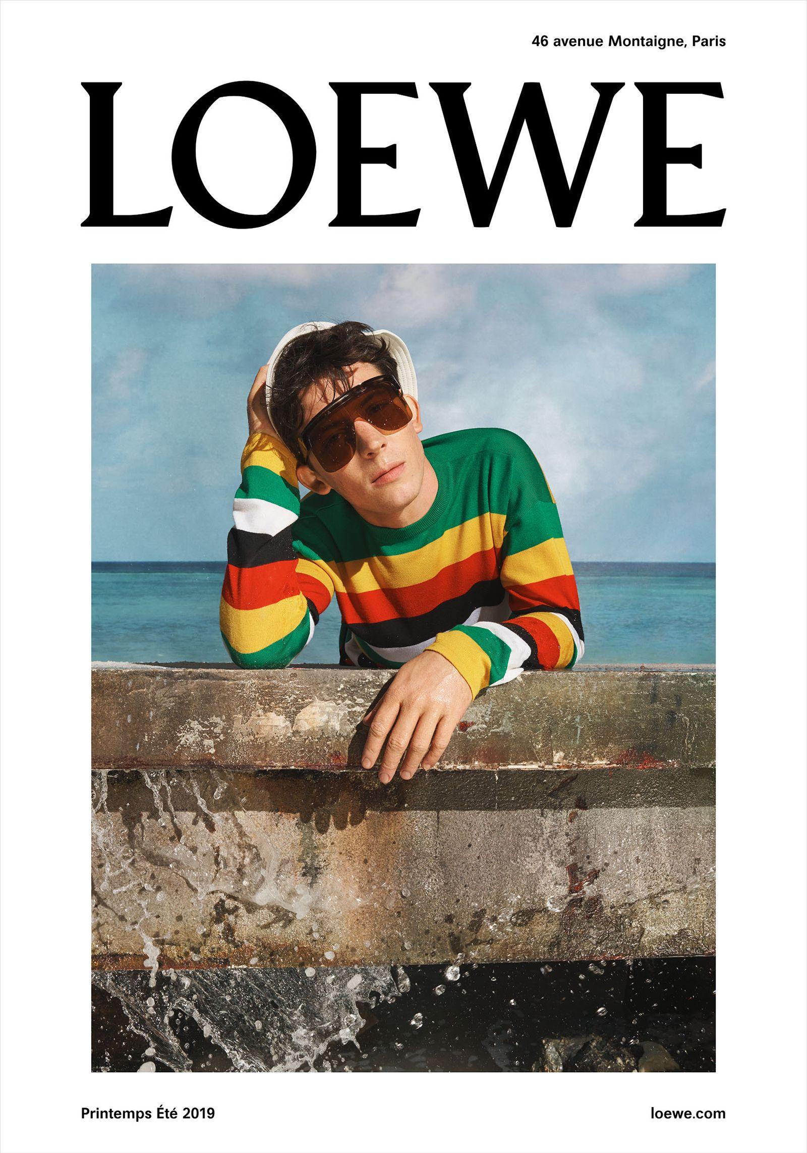 LOE 19 1 M POSTER trazado Loewe jw anderson menswear