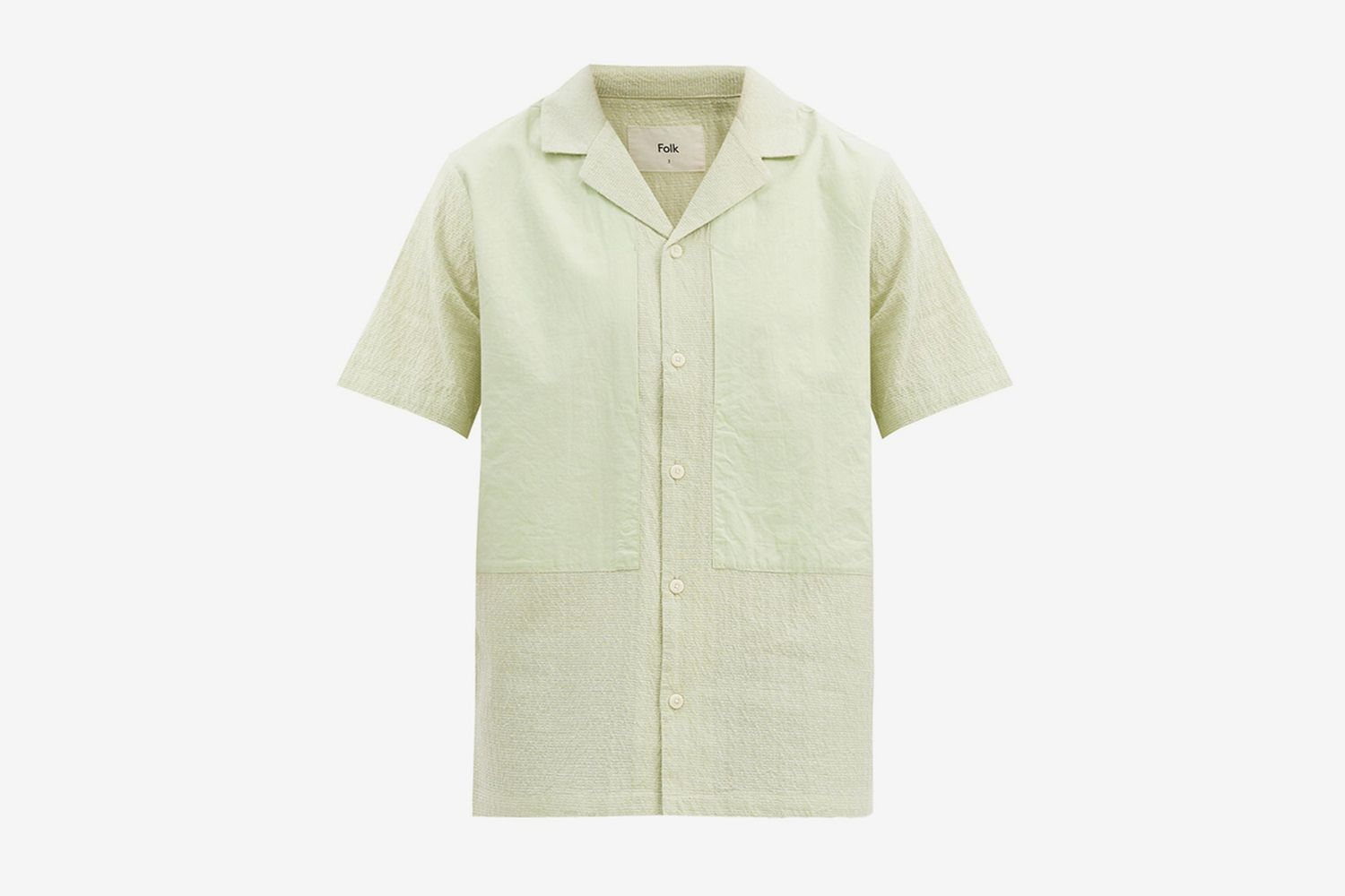 Junction Panelled Cotton Shirt