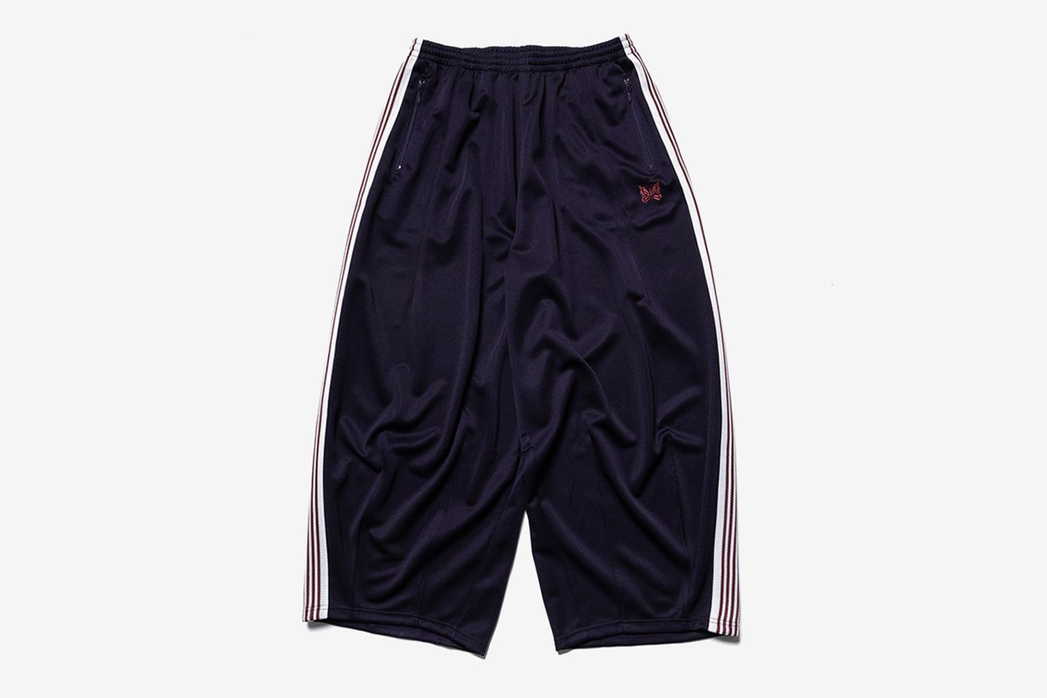 H.D. Track Pant Poly Smooth Eggplant