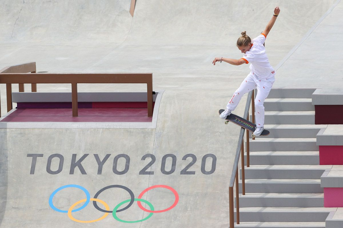 Olympic Skating & Surfing? Deal With It