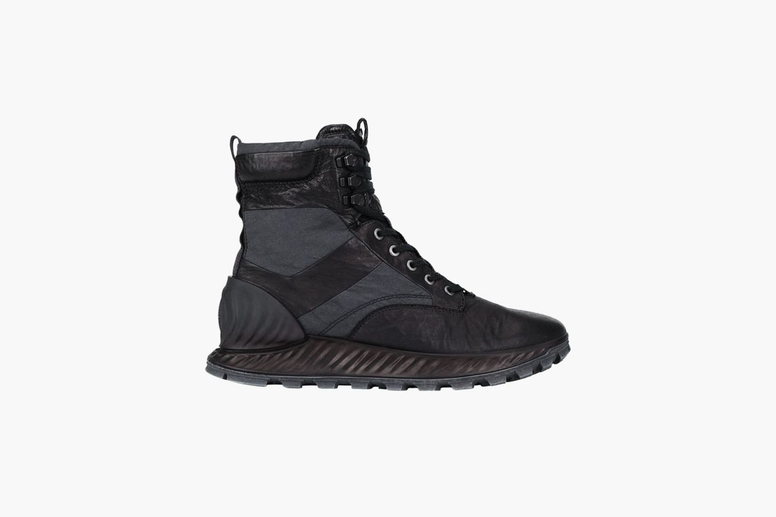 Stone Island Garment Dyed Leather Boots