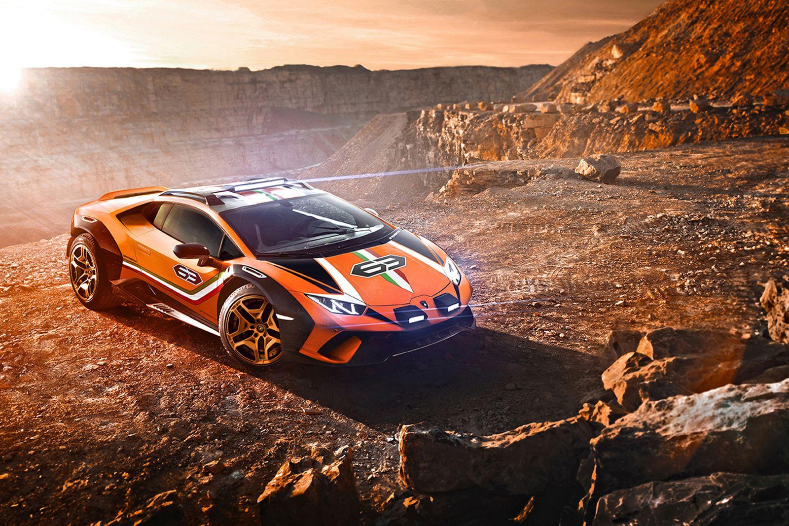 lamborghini huracan sterrato concept Lamborghini Huracán Sterrato