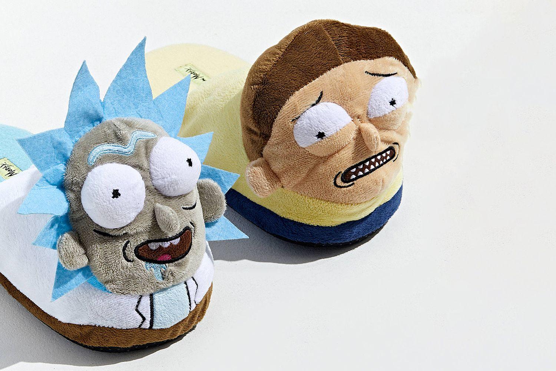 Rick And Morty Plush Slipper
