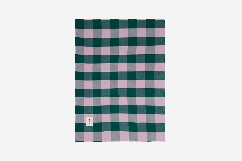 Tartan Merino-Wool Blanket