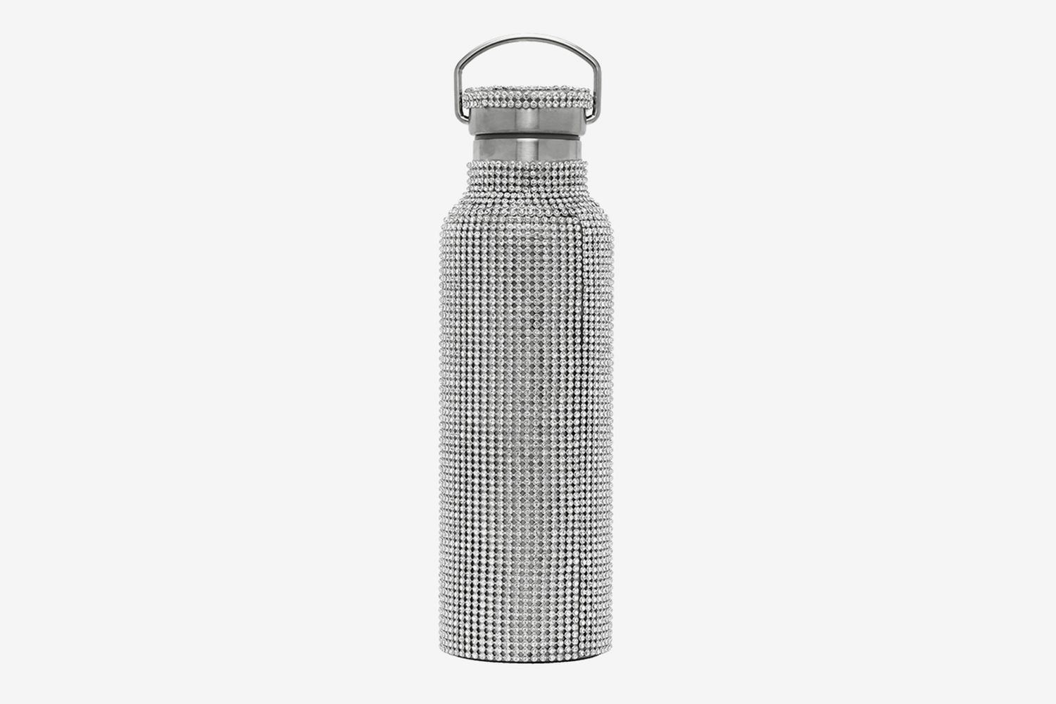 SSENSE Exclusive Rhinestone Water Bottle