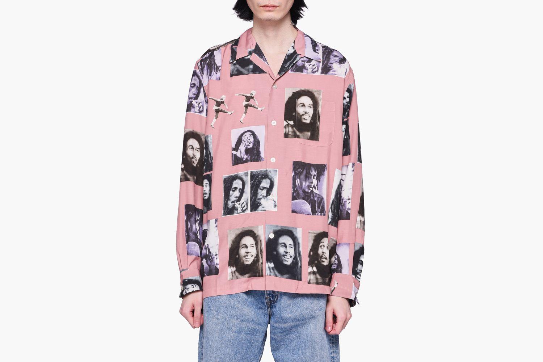 Bob Marley Hawaiian Shirt