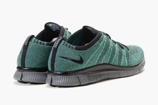 8605a0b12670 2 more. Previous Next. Nike s Free Flyknit NSW sneaker is reissued in a Rough  Green ...