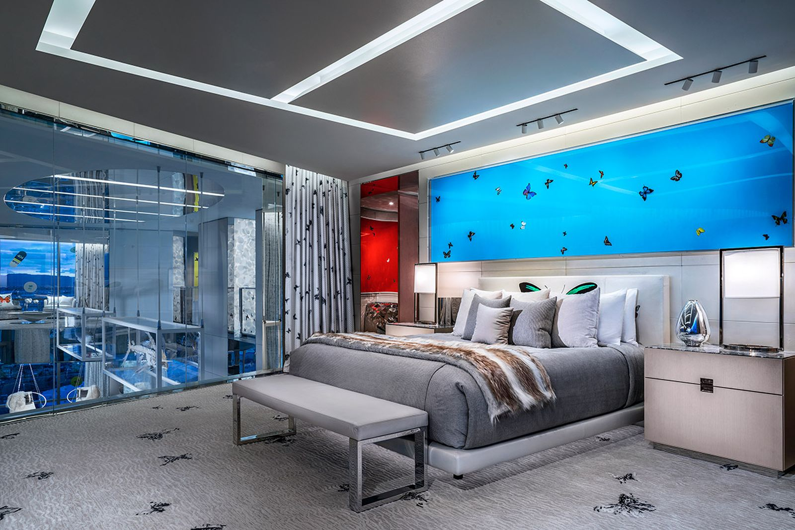 insane creative process behind worlds expensive hotel room Tal Cooperman damien hirst the palms