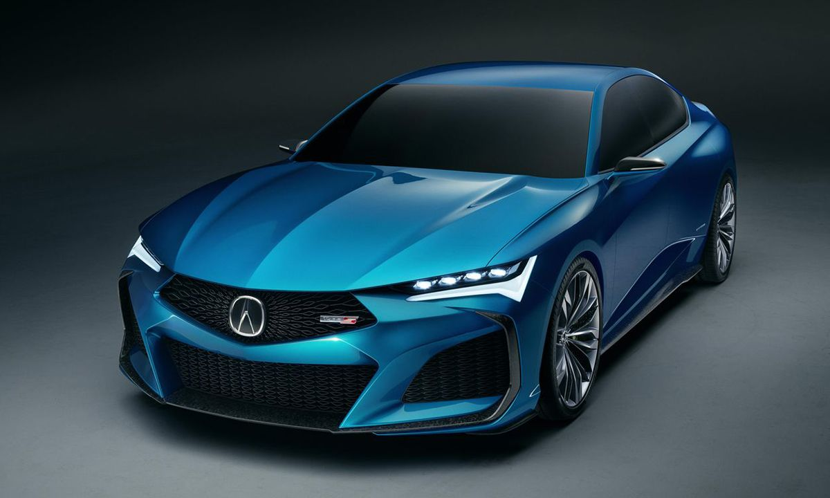 Acura Teases the Future of Type S Performance With Eye-Catching Concept