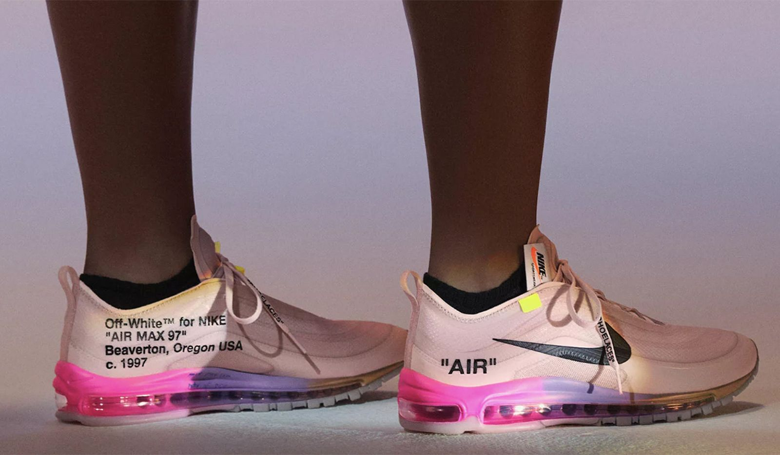 "Talentoso Mono trapo  OFF-WHITE x Nike Air Max 97 ""Queen"": Official Release Info"