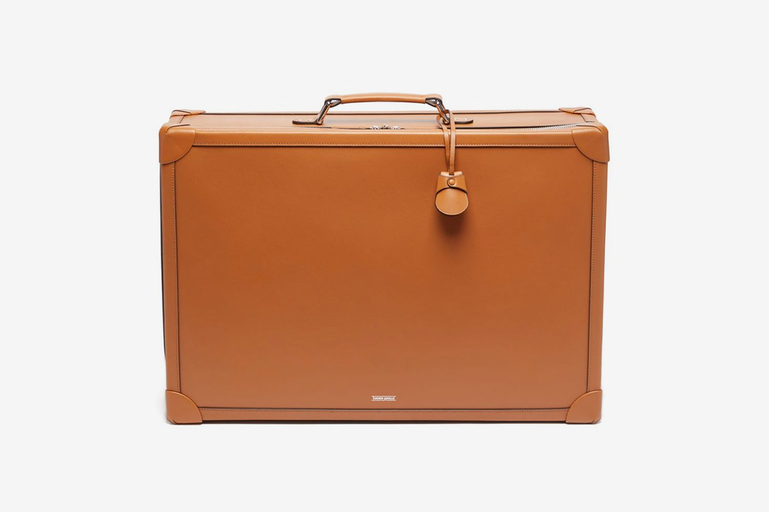 Soft Trunk 55 Leather Cabin Suitcase