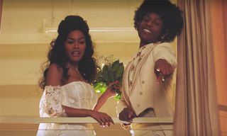 "A$AP Rocky & Tyler, the Creator Star in Teyana Taylor's ""Issues/Hold On"" Video"