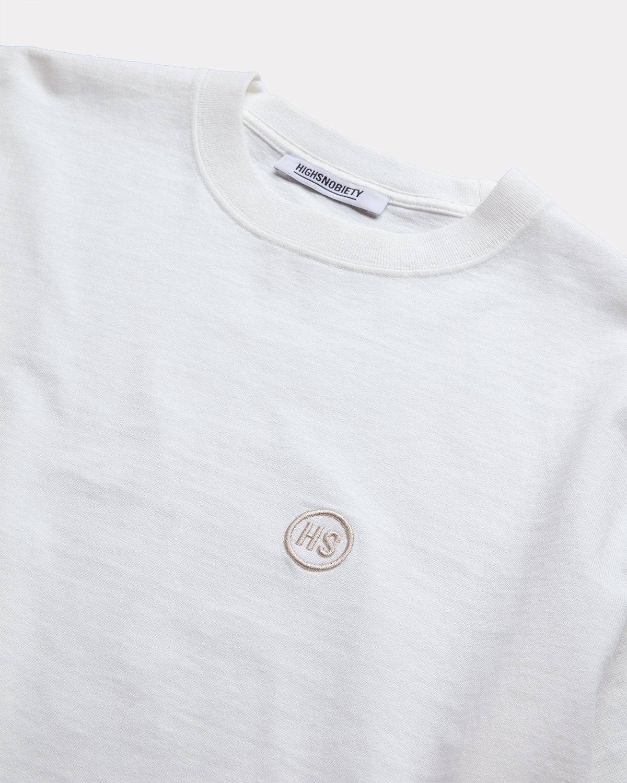 Highsnobiety — T-Shirt Off White - Image 3