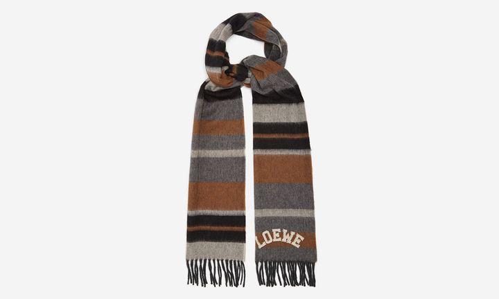 best scarves for men feat 1017 ALYX 9SM Acne Studios Loewe