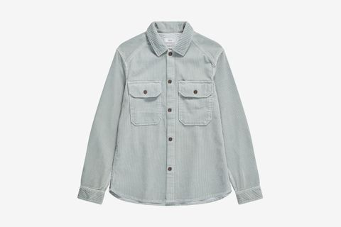 Army Overshirt Made Of Cord