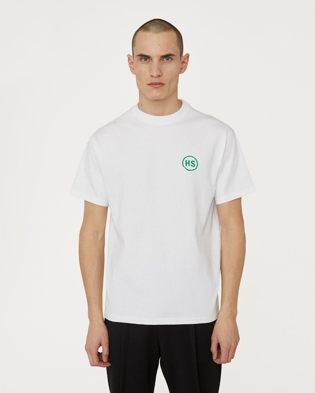 Highsnobiety x L'AS du FALLAFEL — Logo T-Shirt White - Image 2