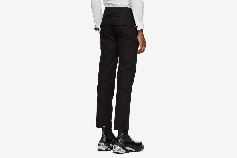 Crescent Zip Trousers