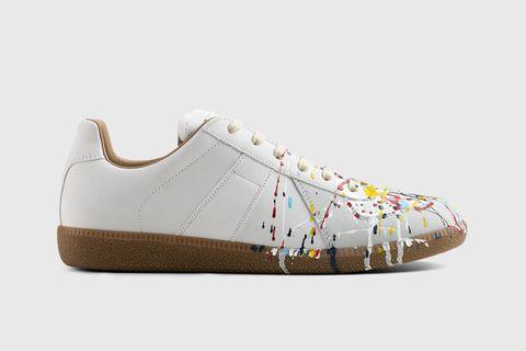 Replica Paint Drop Sneakers