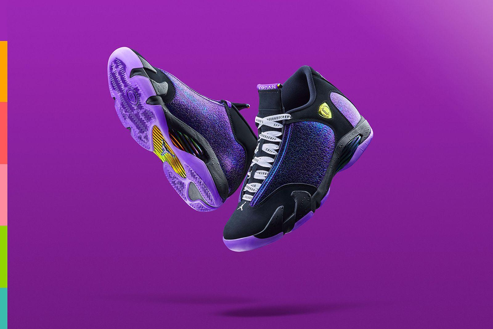 Nike Doernbecher Freestyle 2019 Air Jordan 14