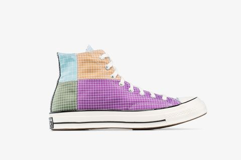 Multicoloured Quad Ripstop High Top Sneakers