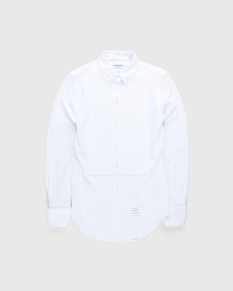 Thom Browne x Highsnobiety — Women's Button-Down Shirt White