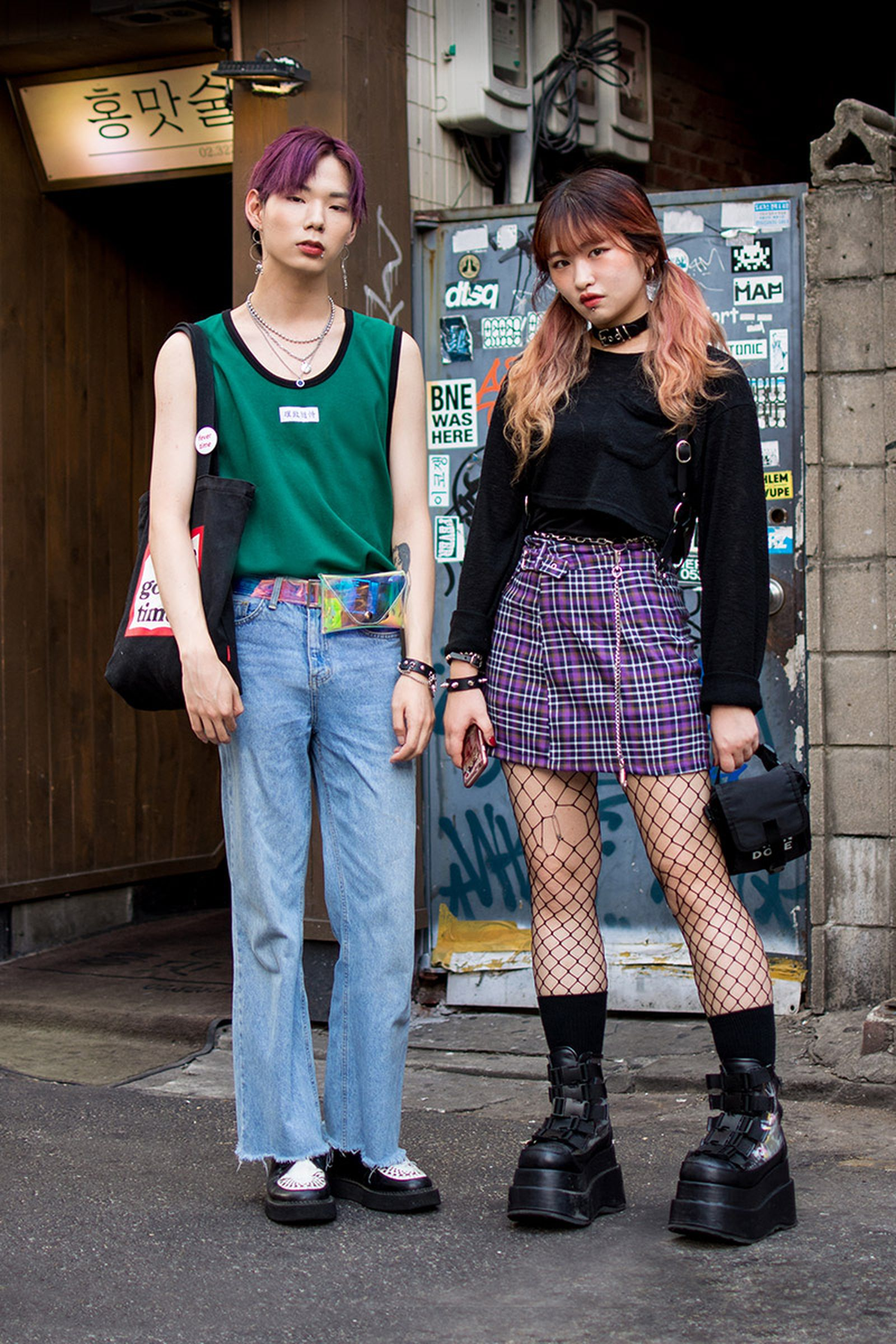 seoul street style july16 Balenciaga Children of the Discordance Gucci