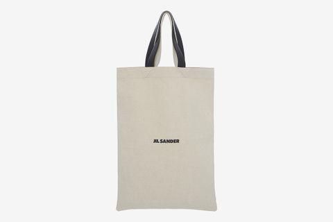 jil sander flat shopper bag