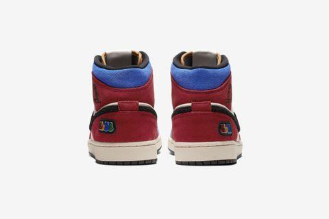 "Air Jordan 1 Mid Fearless ""Blue the Great"""