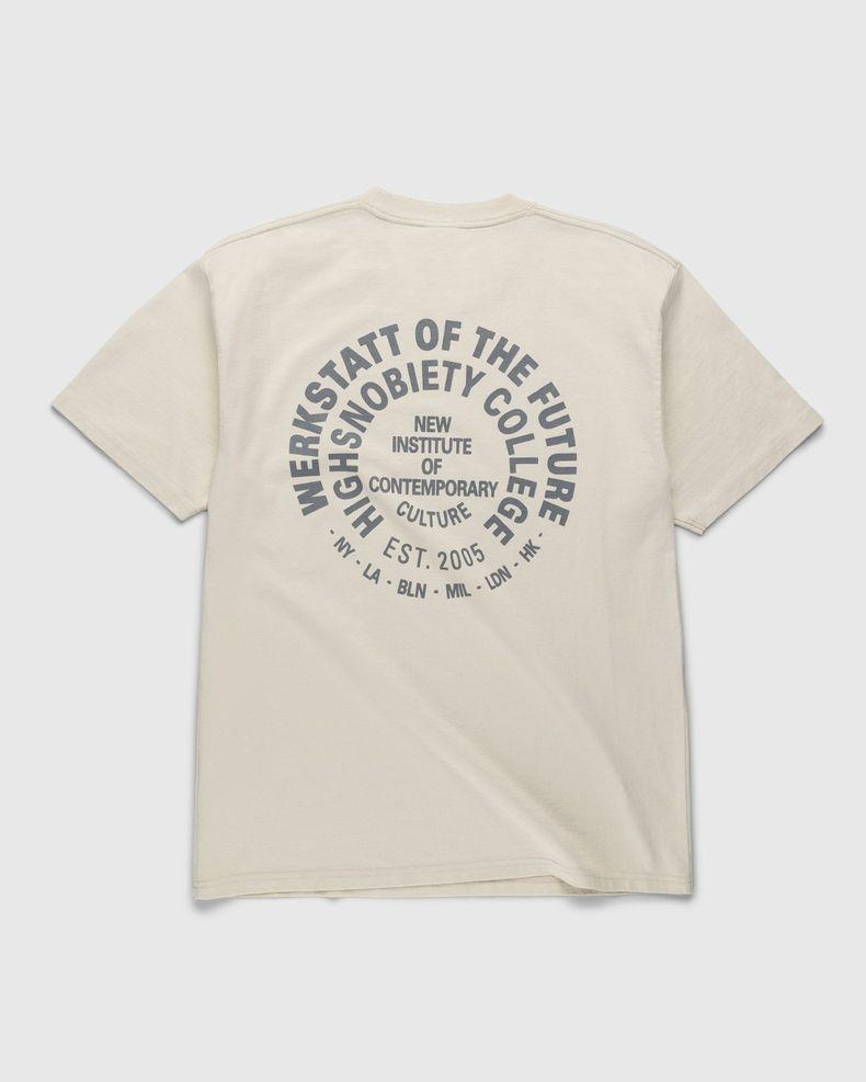 Highsnobiety – Werkstatt T-Shirt Eggshell